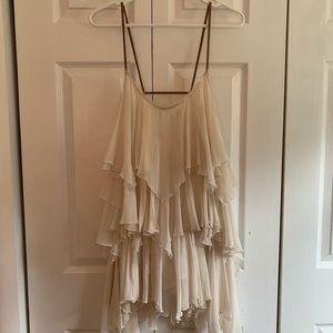 Free People layered flowy dress